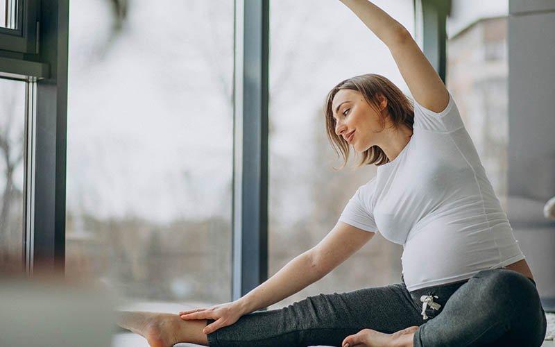 gebelikte egzersiz pozisyonları